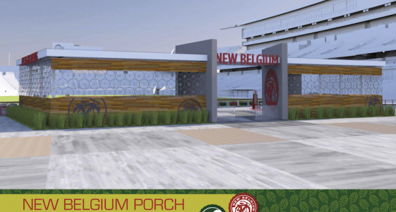 New Belgium Porch