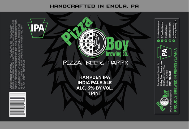 Pizza Boy Hampden IPA