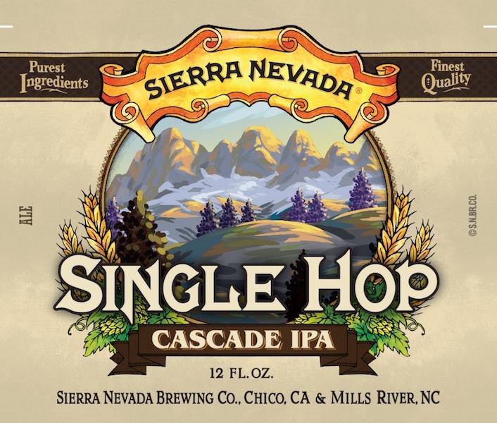 Sierra Nevada Single Hop Cascade IPA