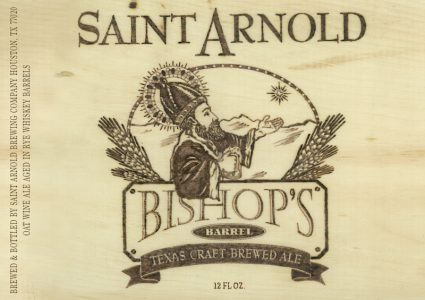 Saint Arnold Bishops Barrel 15