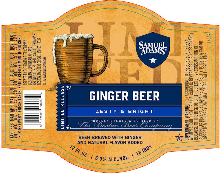 Samuel Adams Ginger Beer