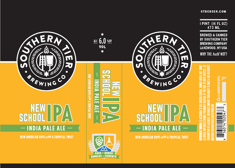 Southern Tier New School IPA Can