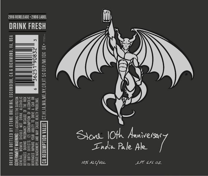 Stone 10th Anniversary IPA