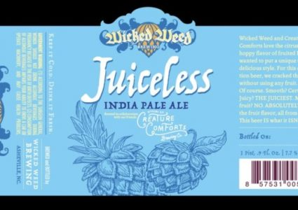 Wicked Weed / Creature Comforts - Juiceless IPA