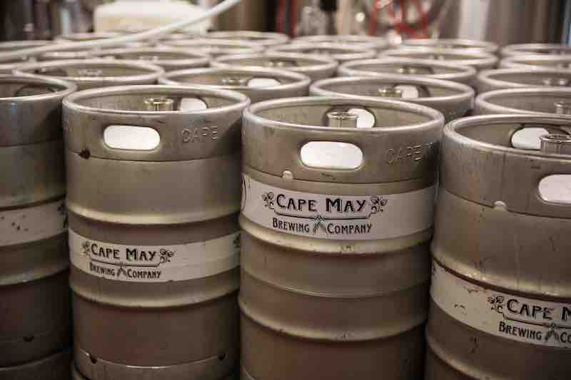 Cape May Brewing Kegs