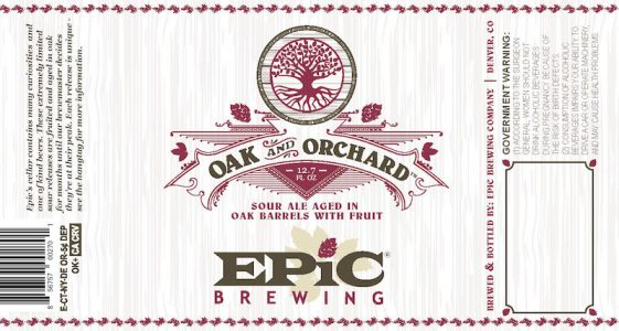 Epic Brewing Oak & Orchard