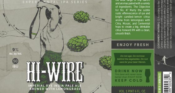 Hi-Wire Brewing Hop Circus Volume 4