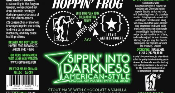 Hoppin' Frog Sippin' Into Darkness