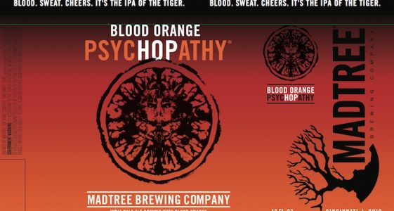 MadTree Brewing Blood Orange PsycHOPathy