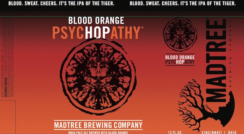 MadTree Brewing Blood Orange PsycHOPathy