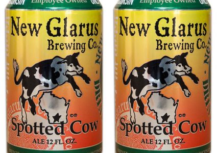 New Glarus Spotted Cow Cans