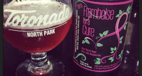 Russian River Framboise for a Cure