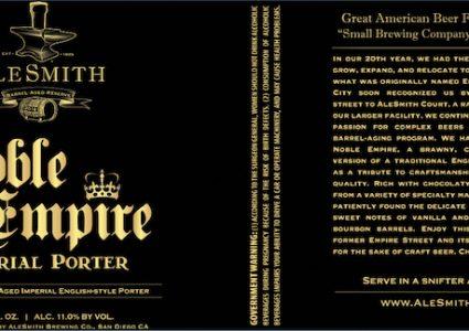 AleSmith Barrel-Aged Noble Empire Imperial Porter_v7_final