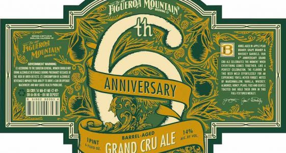 Figueroa Mountain 6th Anniversary Grand Cru