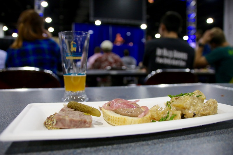 GABF 2016 Beer and Food Pavillion