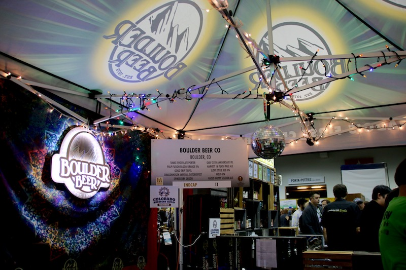 GABF 2016 Boulder Beer Co Booth