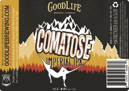 GoodLife Comatose Imperial IPA