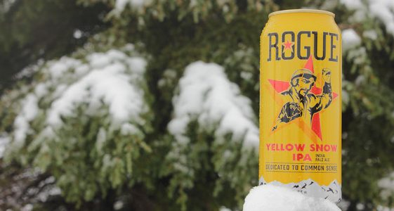 Rogue Yellow Snow IPA Can