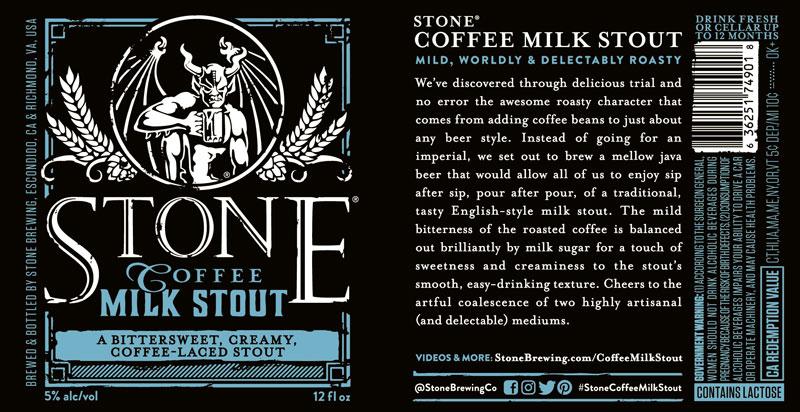 Stone Coffee Milk Stout
