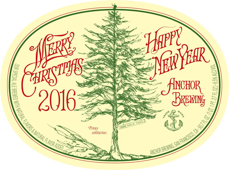 anchor christmas 2016 - Anchor Brewing Christmas Ale