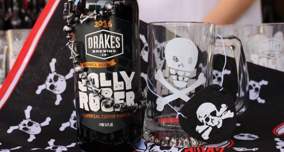 Drake's Barrel Aged Jolly Rodger 2016