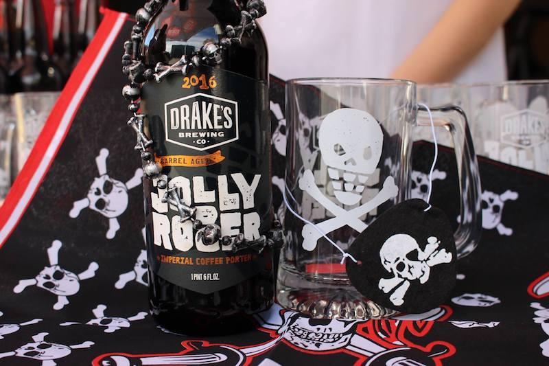 Drake's Barrel Aged Jolly Rodger 2016