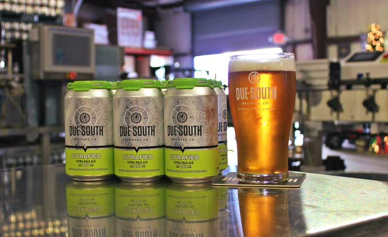 Due South Citrafied cans