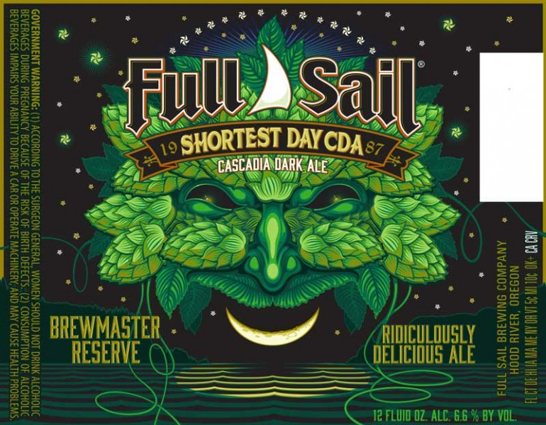Full Sail Shortest Day CDA