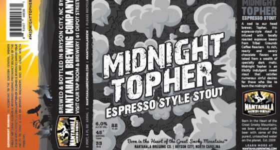 Nantahala Brewing Midnight Topher