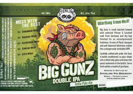 Sterling Pig Big Gunz