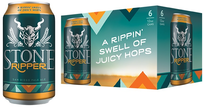 Stone Brewing Ripper Cans