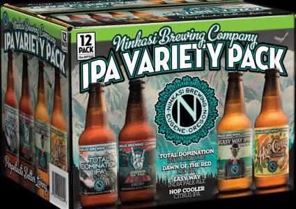 Ninkasi Brewing - IPA Variety 12 Pack