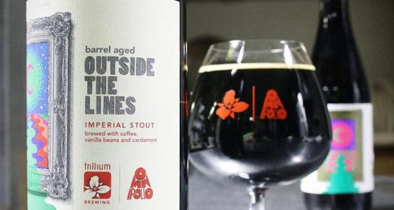 Trillium Barrel Aged Outside The Lines