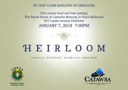 Catawba Brewing - Appalachian New Years Dinner