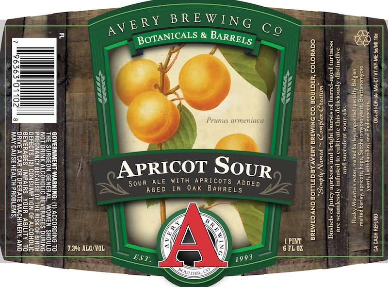 Avery Brewing Apricot Sour