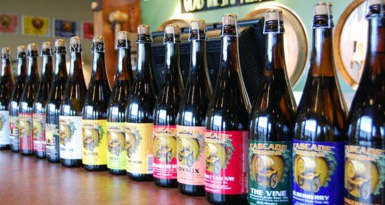 Cascade Bottle lineup