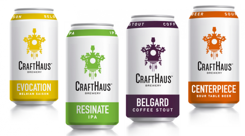 CraftHaus Brewery Cans 2017