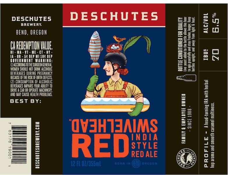 Deschutes Swivelhead Red