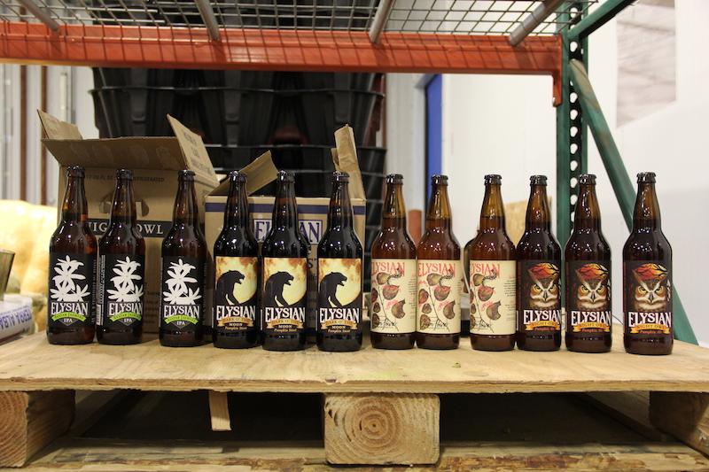 Elysian Brewing Beer Bottles