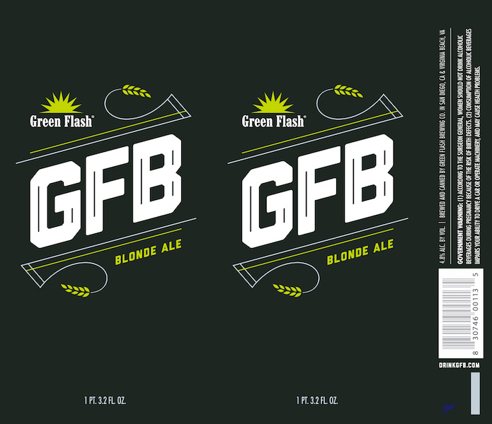 Green Flash GFB tall can