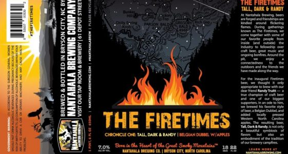 Nantahala Brewing - The Firetimes - Tall, Dark & Randy