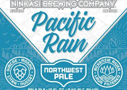 Ninkasi Pacific Rain Label