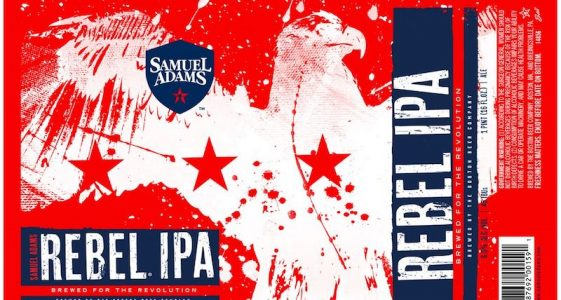 Samuel Adams Rebel IPA 2017