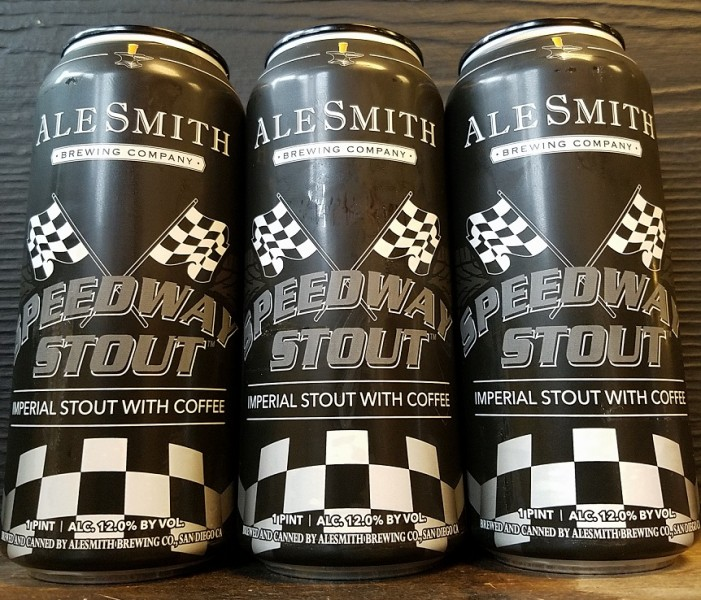AleSmith Brewing Speedway Stout Cans