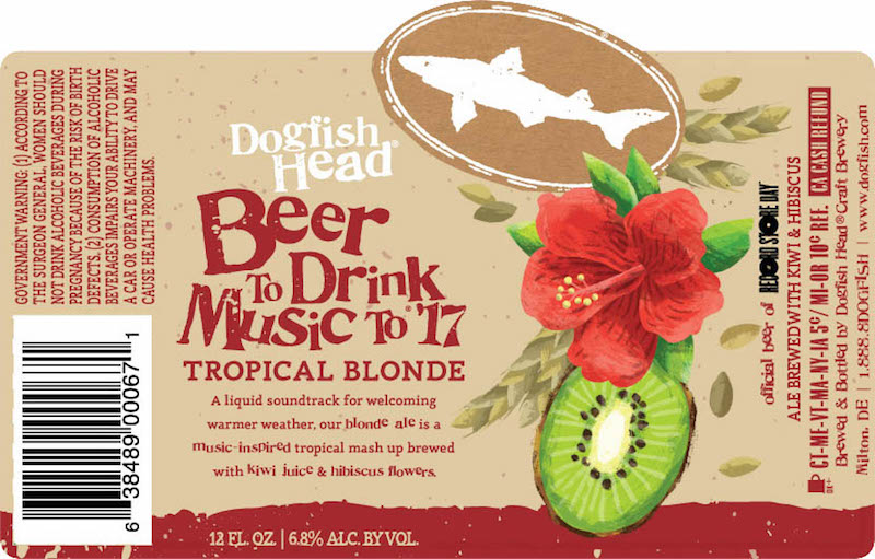 Dogfish Head Beer To Drink Music To 17