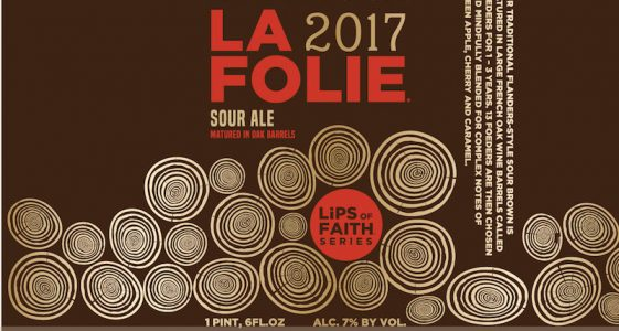 New Belgium La Folie 2017