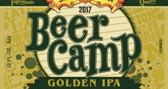 Sierra Nevada 2017 Beer Camp Golden IPA Label