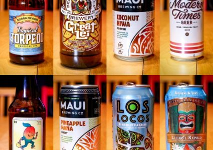 Tropical Beers - Collage