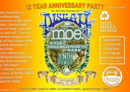 Pisgah Brewing 12th Anniversary