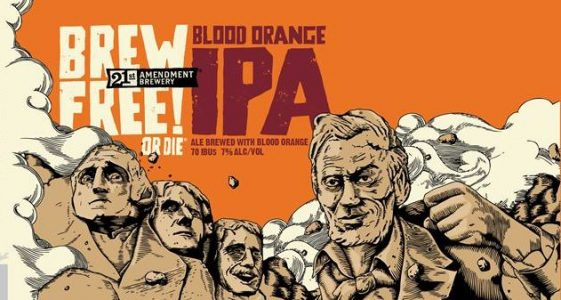21st Amendment Brew Free or Die Blood Orange IPA